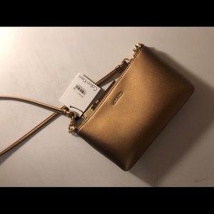 Calvin Klein Gold crossbody bag Brand New
